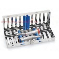 Система хранения, стерилизации микромоторов и наконечников. Кассета, силиконовые вставки.