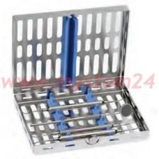 Кассета для 8 инструментов, с силиконовой вставкой